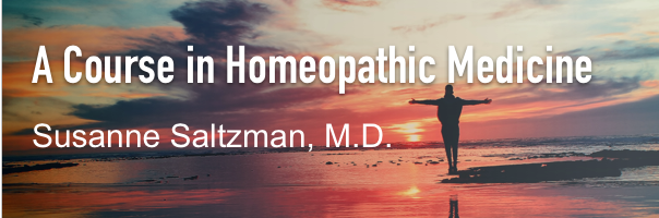 Course In Homeopathic Medicine